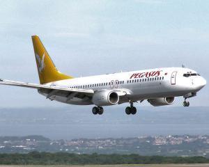 Compania aeriana low-cost turceasca Pegasus vine in Romania