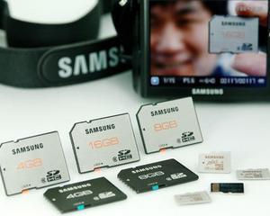 Noile carduri SD de la Samsung, facute sa reziste pana si la un tsunami