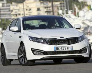 Kia Optima a fost lansata in Romania. Versiunea de baza costa 19.784 euro