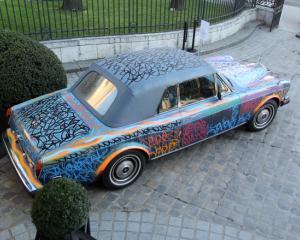 Rolls Royce-ul lui Eric Cantona va fi scos la licitatie