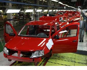 Pe ce loc este Romania in topul producatorilor de autoturisme