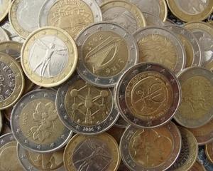 Falsificatorii sunt din ce in ce mai putin tentati de monedele euro