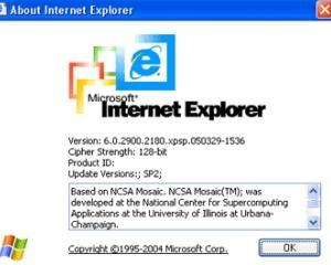 Microsoft: Adio Internet Explorer 6!
