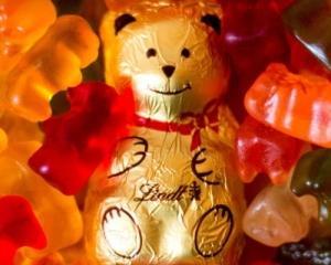 Ursuletul gumat german a castigat lupta cu cel elvetian din ciocolata
