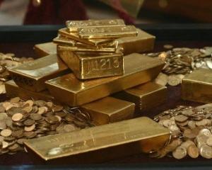 Aurul Romaniei ar putea valora 26,7 miliarde de dolari