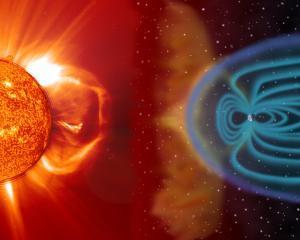 Soarele iese treptat dintr-o perioada record de acalmie, incep furtunile magnetice