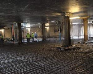 Cand va fi gata parcarea subterana de la Universitate