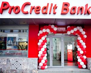 ProCredit Bank are carduri in euro