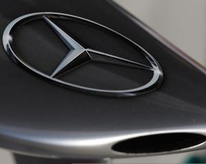 Bolidul Mercedes este gata sa ia startul in Formula1