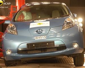 EuroNCAP: Citroen DS4, Ford Focus, Lexus CT200h, Peugeot 508, Nissan Leaf si Volvo V60 au primit cate 5 stele