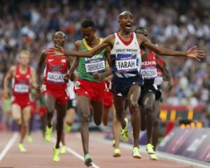 Mo Farah, legenda olimpica mai rapida decat... Batman