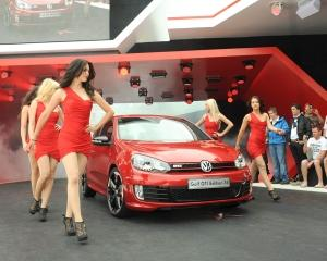 Volkswagen Golf GTI Edition 35 iese la rampa