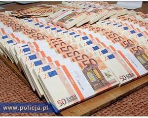 Polonezii au capturat un milion de euro in bancnote false