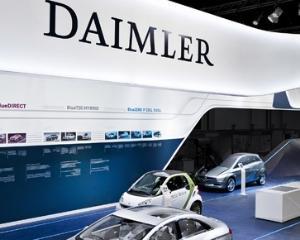 Daimler va cumpara 12% din compania chineza BAIC Motor
