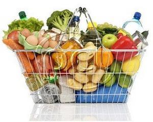 Pretul alimentelor a scazut in luna aprilie
