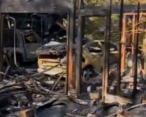 Un Chevrolet Volt a luat foc dupa ce a fost testat