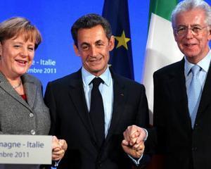 Mario Monti sustine Germania si Franta in chestiunea schimbarii tratatelor UE