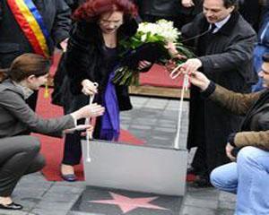Stela Popescu, un astru pe Walk of Fame-ul autohton