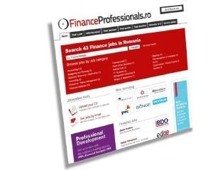 FinanceProfessionals.ro inregistreaza dupa 4 luni 2.500 de utilizatori si 4.200 de aplicari la joburi