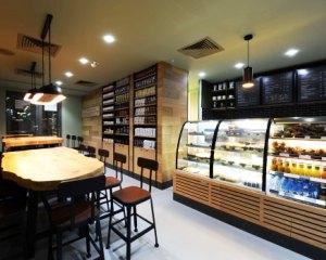 Imagini in premiera cu prima cafenea dintr-un parc de birouri