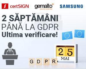 Provocarile, oportunitatile si pasii necesari pentru obtinerea conformitatii cu GDPR, in viziunea expertilor in securitatea terminalelor mobile