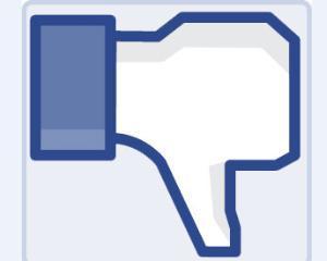 Introduce Facebook butonul de dislike?