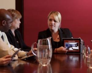 iPad-ul a devenit o unealta de lucru pentru oamenii de afaceri