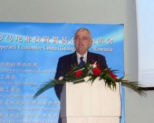 Gabriel Ghelmegeanu: Romania isi doreste sa nu se limiteze la relatiile comerciale cu China