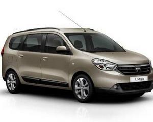 Primele imagini oficiale cu Dacia Lodgy