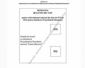 Buletinele de vot vor