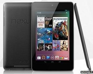 Google a prezentat tableta Nexus by Asus