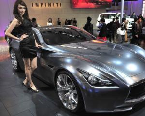 Nissan si-a propus sa controleze 10% din piata de lux din China