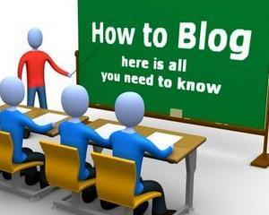 4 pasi pentru un blog de succes