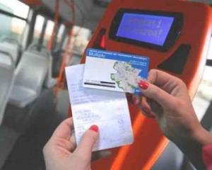 Plateste cu cardul in tramvai! BRD a lansat cartea de debit pentru plata  transportului in comun