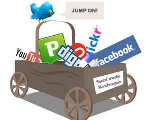 Prezenta pe retelele sociale nu le prea aduce bani firmelor
