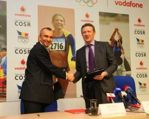 Vodafone sustine cu 175.000 de dolari Comitetul Olimpic si Sportiv Roman