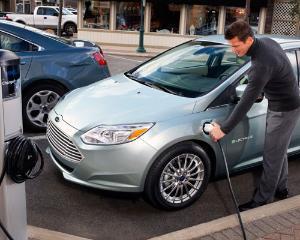 Ford a lansat varianta electrica a lui Focus