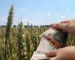 Ministerul Agriculturii se imprumuta de 300 de milioane de euro pentru plata subventiilor