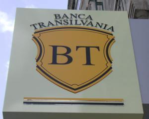 Banca Transilvania a facut profit in crestere cu 40 la suta