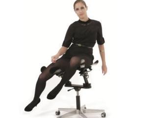 Scaunul care te face mai fericit la birou