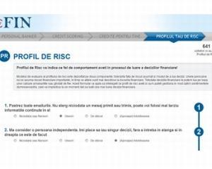 Profilul de risc - noua aplicatie eFin.ro. Ce tip de personalitate ai?
