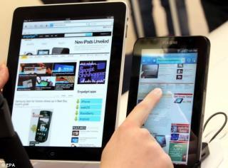 Android a cucerit rapid teritoriu Apple pe piata de tablete. In prima linie de atac se afla Samsung Galaxy Tab