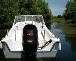 Restrictii in Delta Dunarii pentru ambarcatiunile cu motoare peste 15-20 CP