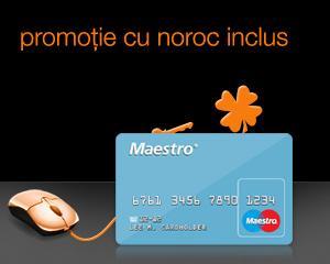 Facturile Orange platite on-line, cu un card Maestro aduc beneficii utilizatorilor