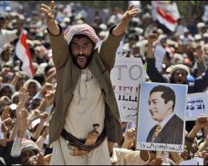 Presedintele Yemen-ului: SUA si Israelul se afla in spatele revoltelor