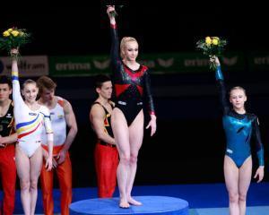 Romania este pe locul doi in Europa la gimnastica, cu sase medalii