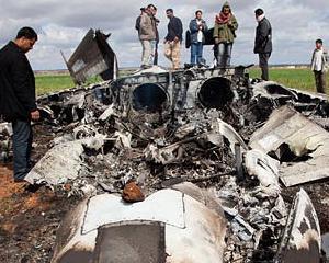 RAZBOI IN LIBIA: Un avion american s-a prabusit langa Benghazi