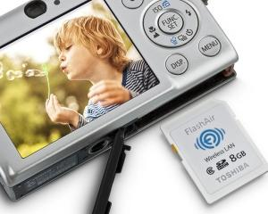 Toshiba a lansat un SD Card Wi-Fi