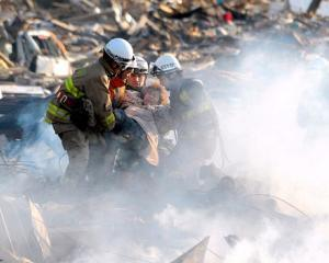 Operatiuni de salvare in Japonia: