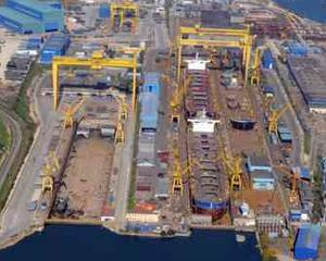 Santierul naval Daewoo Mangalia a primit o comanda de 400 milioane de dolari